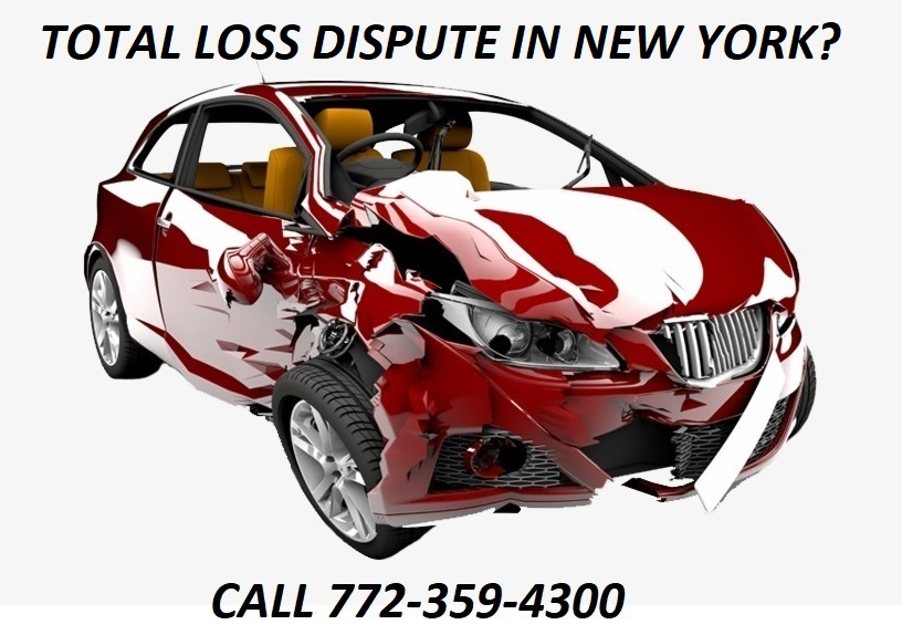TOTAL LOSS DISPUTE IN NEW YORK